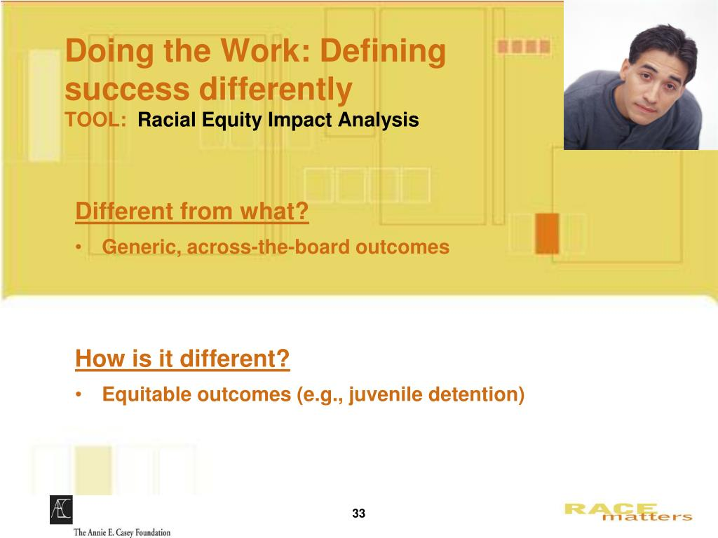 Doing the Work: Defining success differently