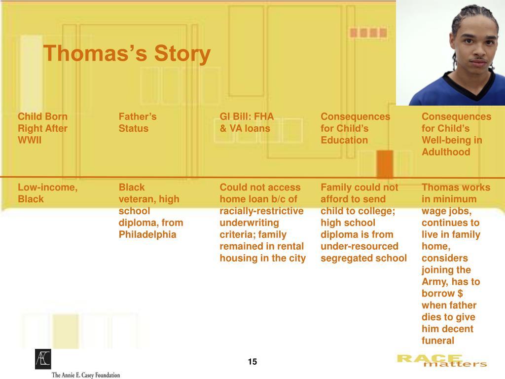 Thomas's Story