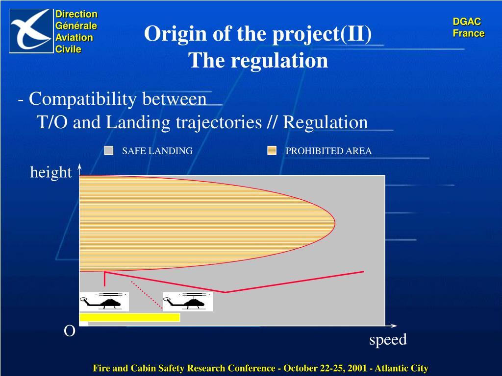 Origin of the project(II)