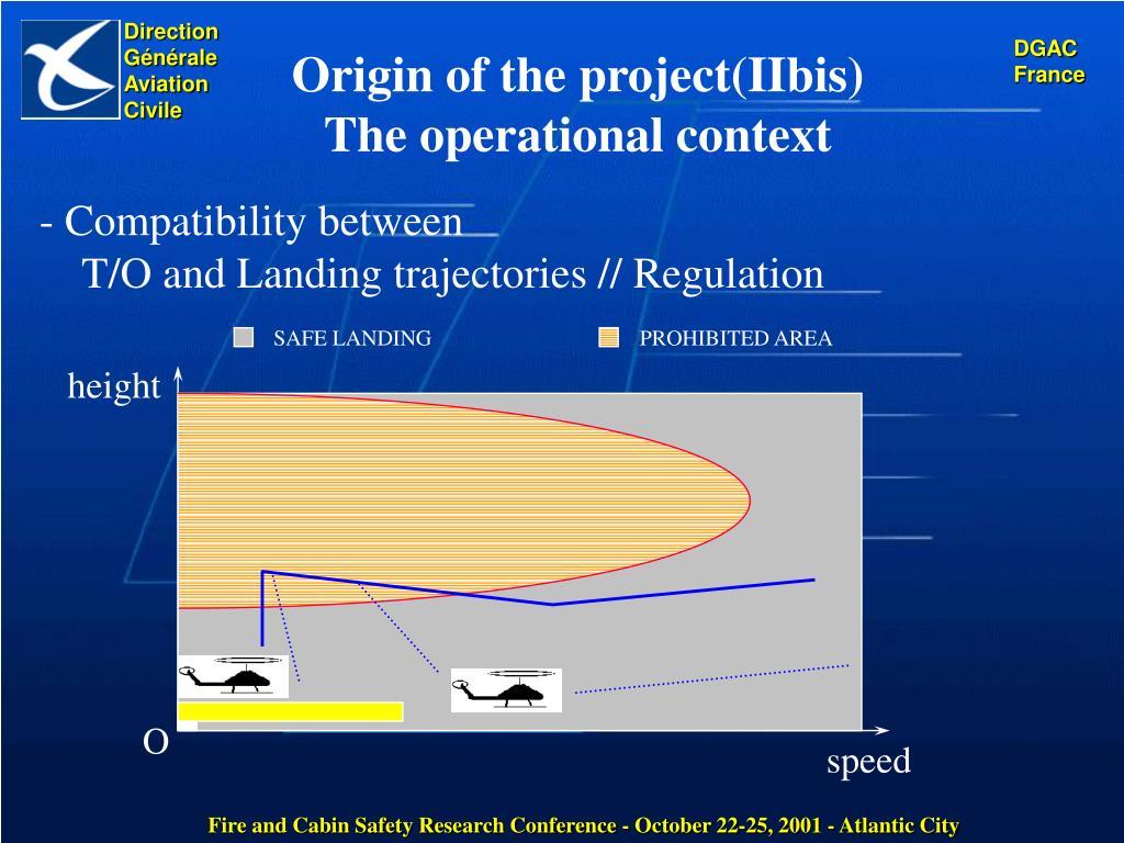 Origin of the project(IIbis)