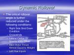 dynamic rollover53
