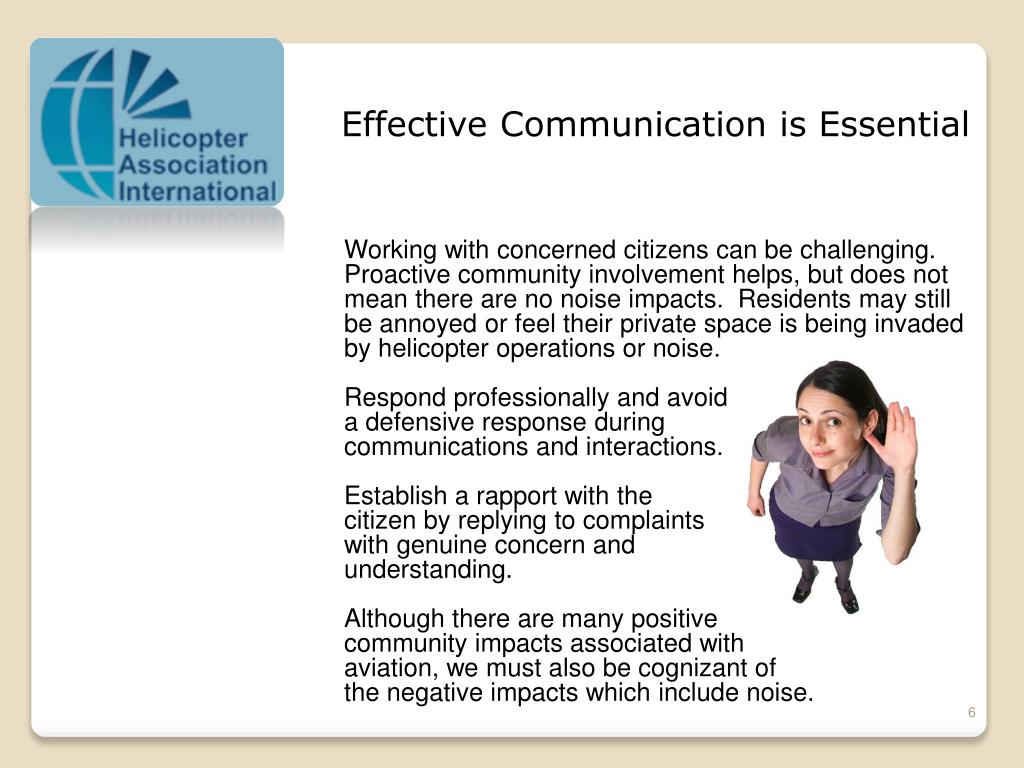 Effective Communication is Essential