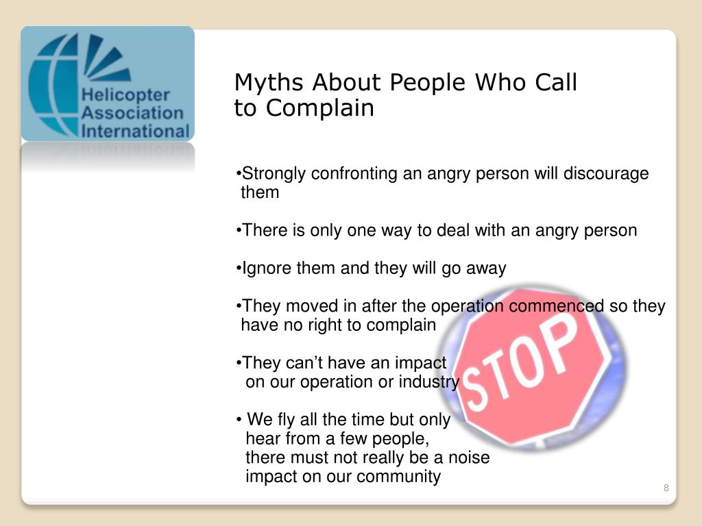 Myths About People Who Call