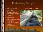 preliminary design39