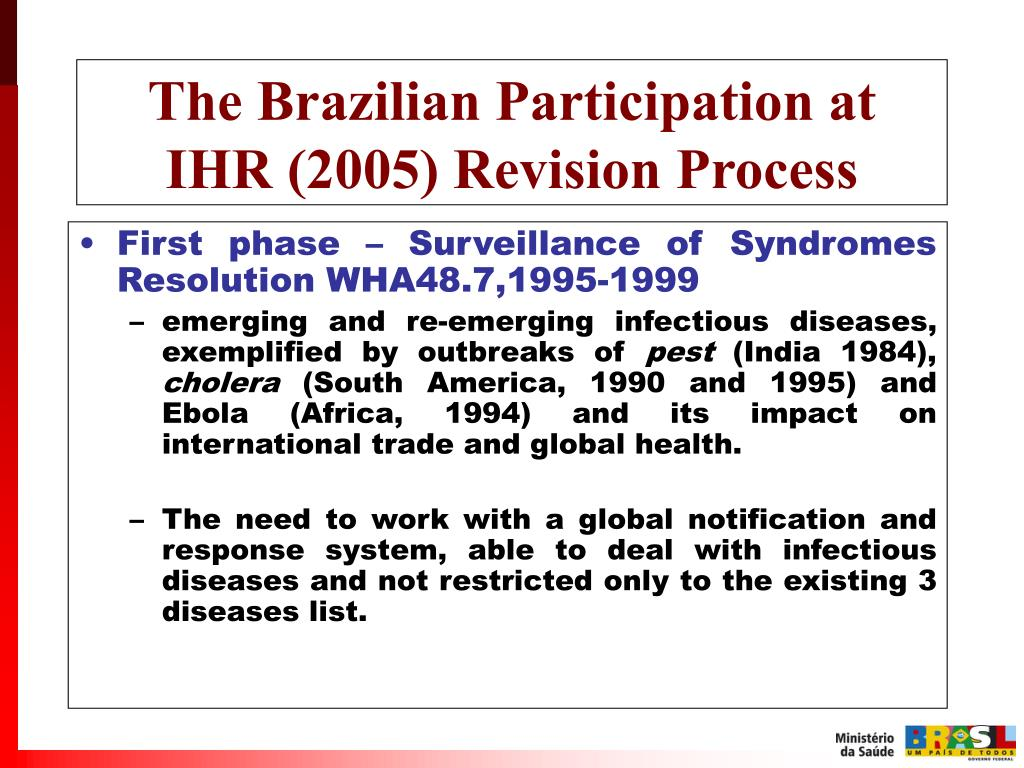 PPT - IHR Revision Process and health diplomacy: The