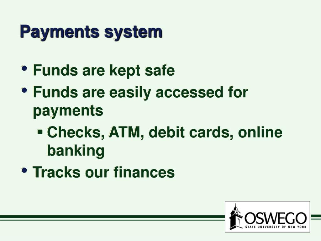 Payments system