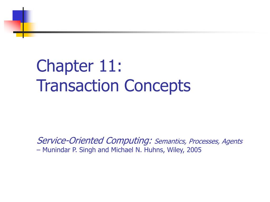 chapter 11 transaction concepts l.