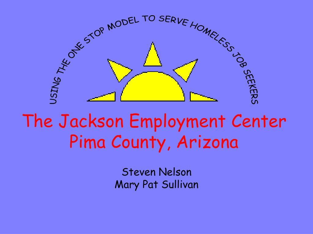 the jackson employment center pima county arizona