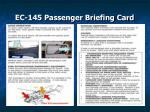 ec 145 passenger briefing card34