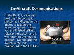in aircraft communications47