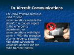 in aircraft communications48