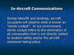 in aircraft communications49