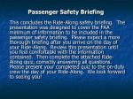 passenger safety briefing53