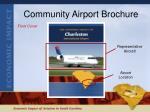 community airport brochure