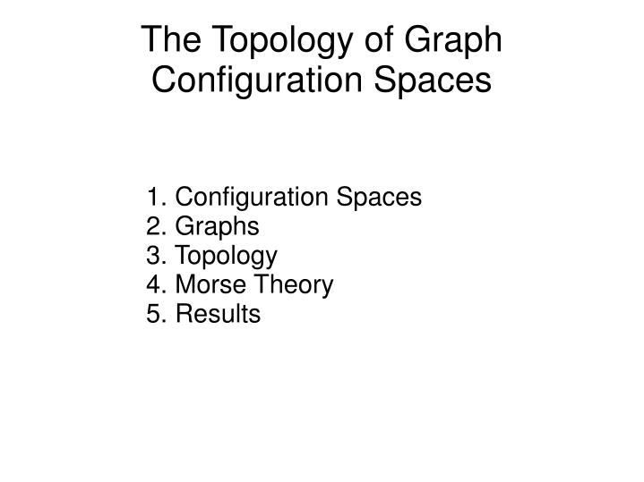 The Topology of Graph Configuration Spaces