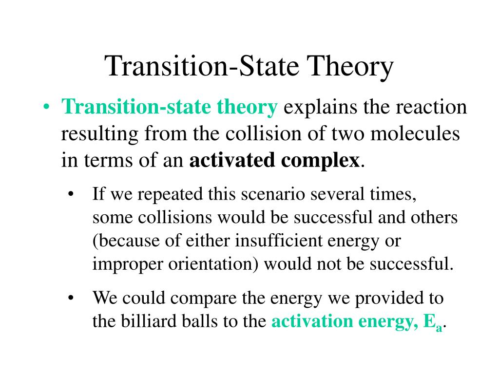 Transition-State Theory