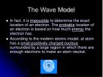 the wave model31