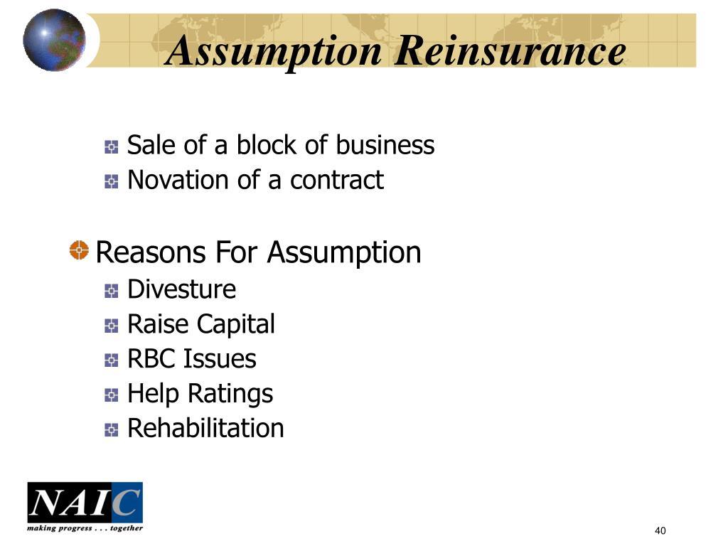 Assumption Reinsurance