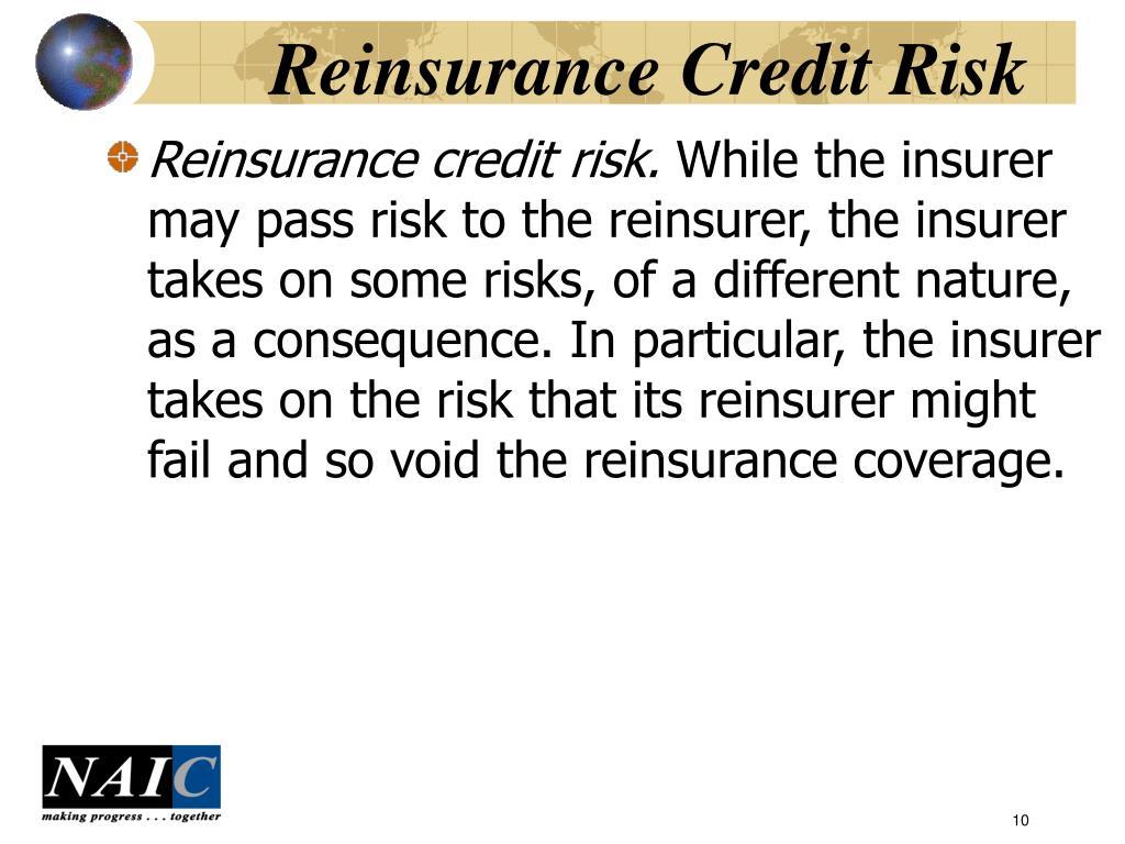 Reinsurance Credit Risk