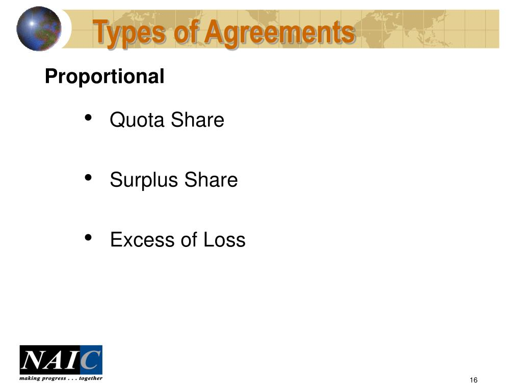 Types of Agreements