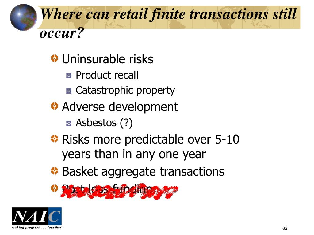 Where can retail finite transactions still occur?