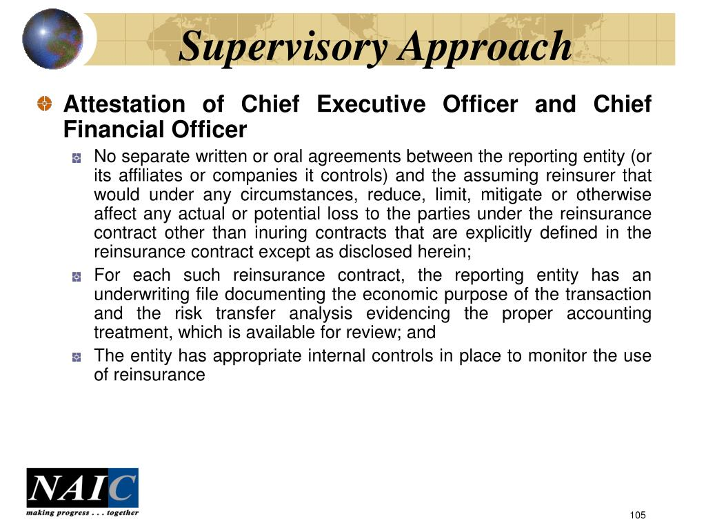 Supervisory Approach