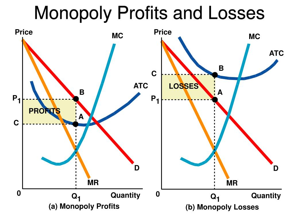 Monopoly Profits and Losses