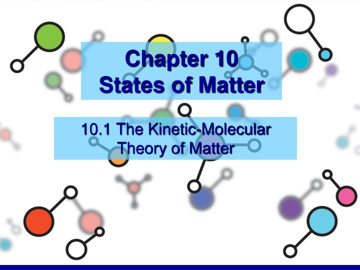 chapter 10 states of matter n.