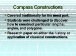compass constructions