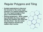regular polygons and tiling