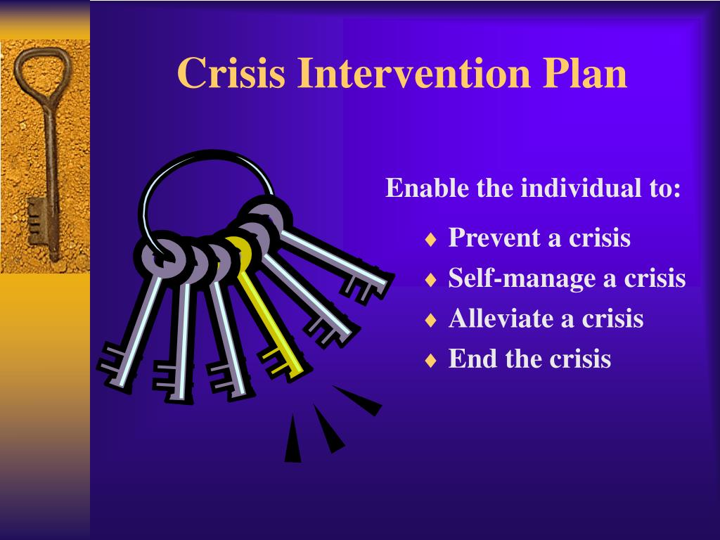 crisis intervention plan l.