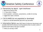 aviation safety conference