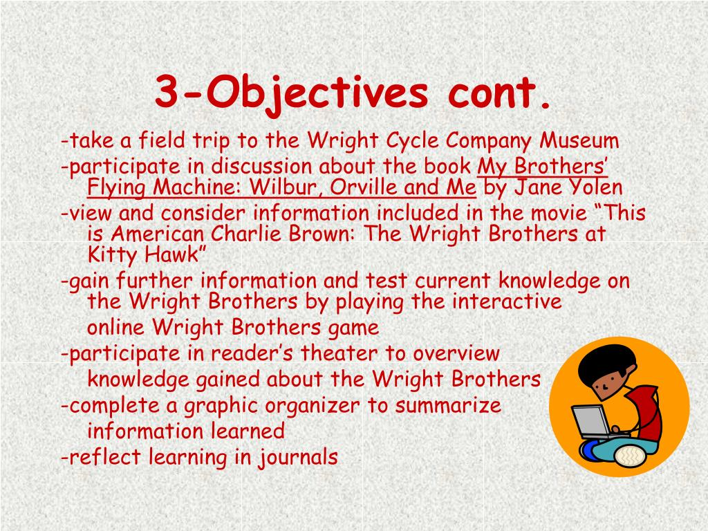 3-Objectives cont.