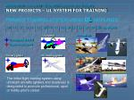 primary training system using u l airplanes