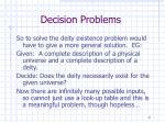 decision problems9