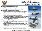 history s lesson why air forces fail