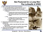 not postured for a long war the luftwaffe in wwii25