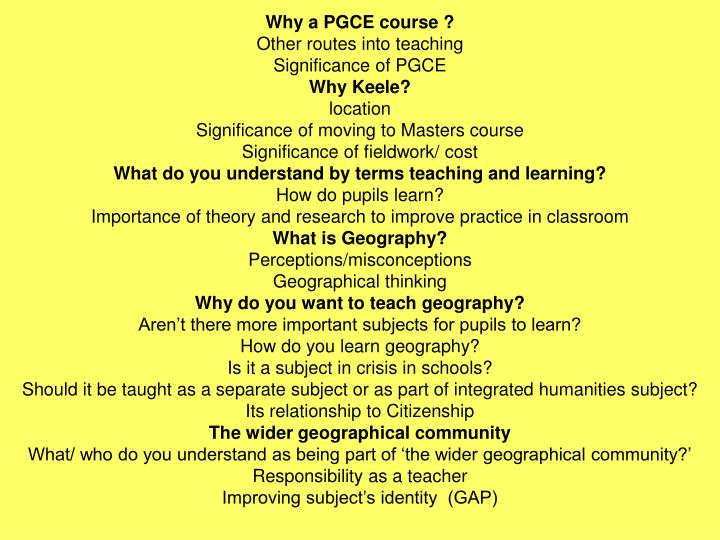 pgce interview questions 2 goldsmiths | pgce (primary) interview guidance congratulations, you've made it through the first part of the  pgce primary selection process and have been invited to attend.