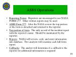 asrs operations