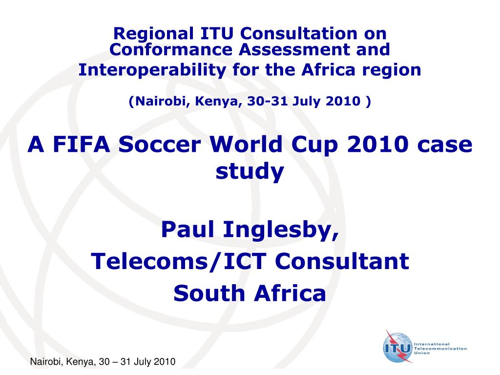 a fifa soccer world cup 2010 case study l.