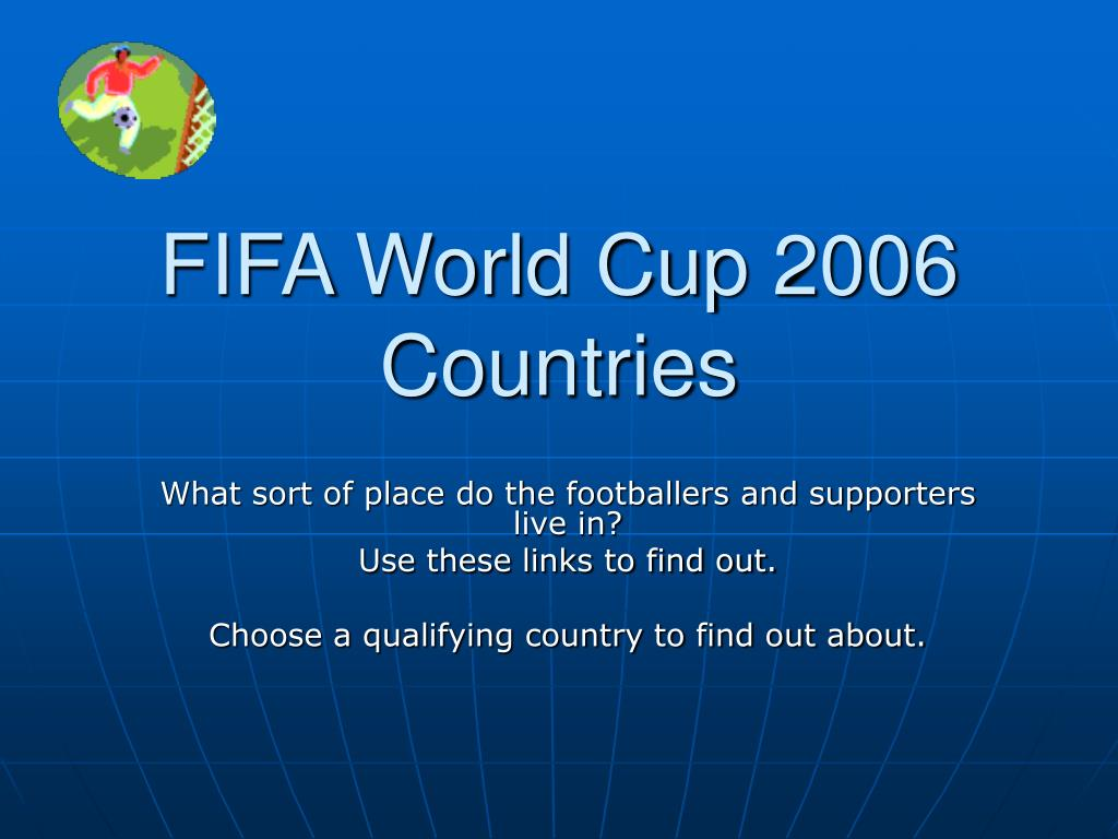 fifa world cup 2006 countries l.