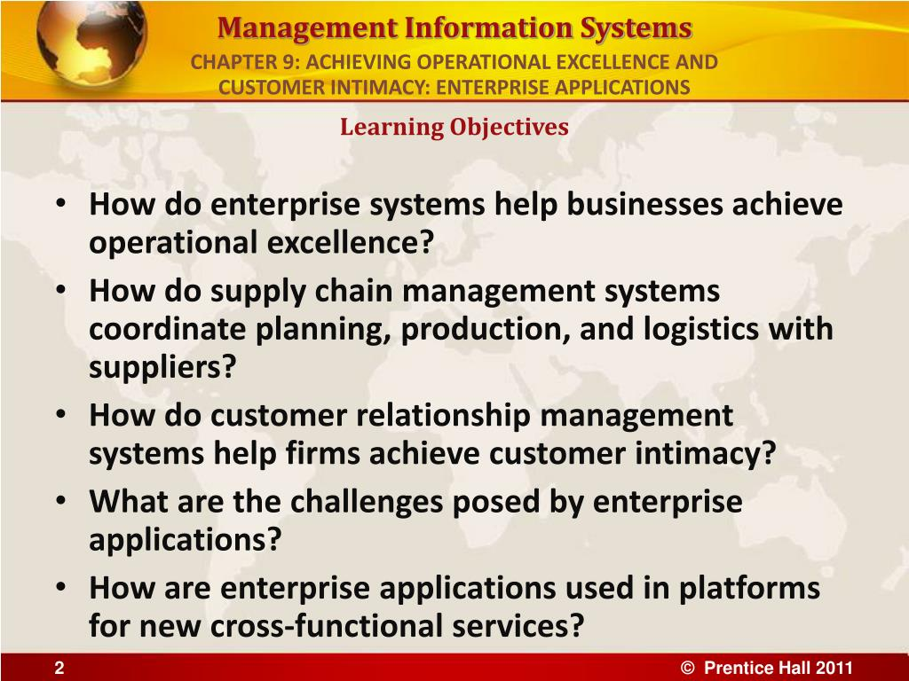 achieving operational excellence evaluating supply chain management services