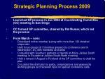 strategic planning process 2009