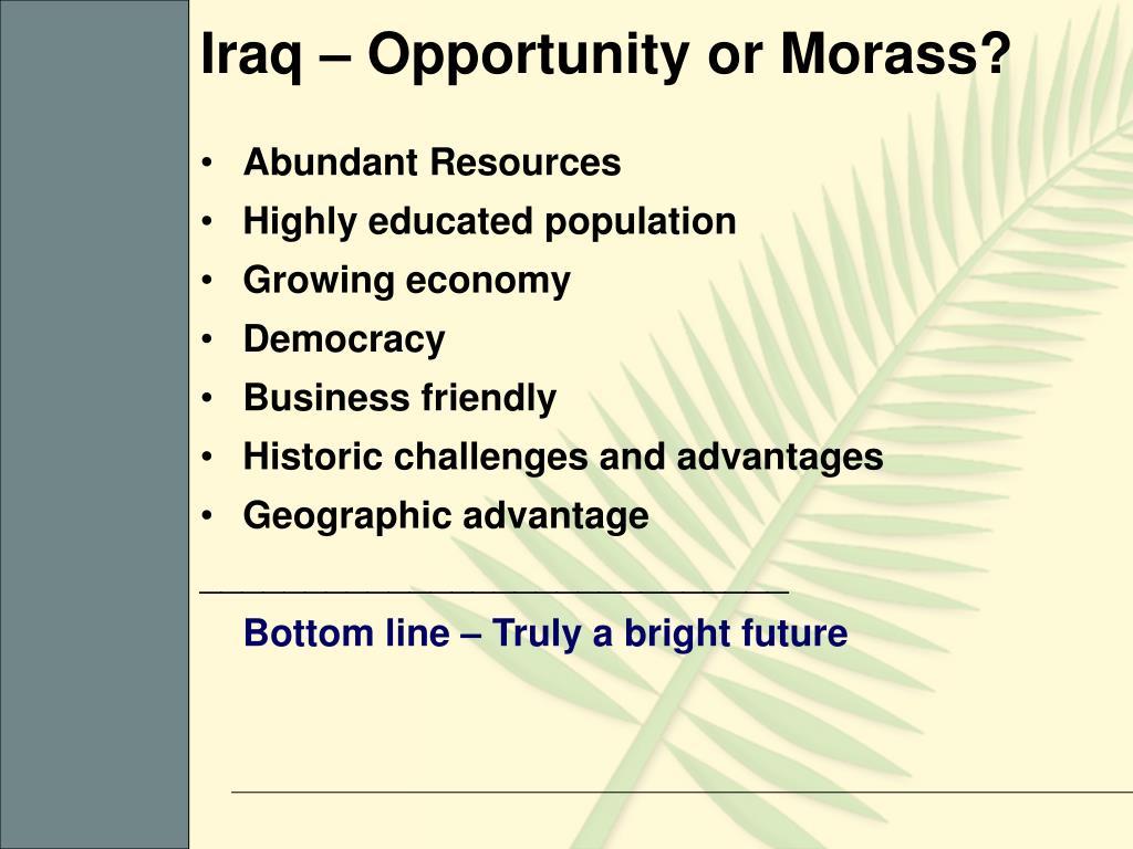 PPT - Iraq Reconstruction CPI 13 Sept 05 PowerPoint