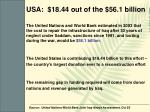 usa 18 44 out of the 56 1 billion