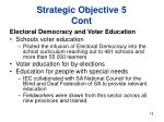 strategic objective 5 cont18