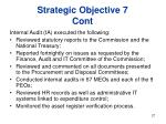 strategic objective 7 cont27