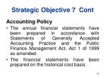 strategic objective 7 cont30