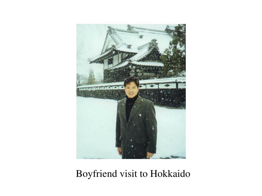 Boyfriend visit to Hokkaido