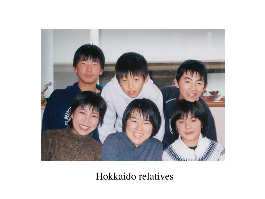 Hokkaido relatives